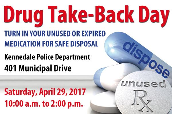 KPD Drug Take Back 2017